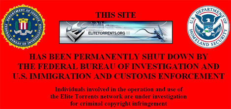 elite torrents fbi