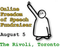 freedom of speech fundraiser