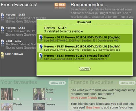 TIOTI: The Social TV-Torrent Network Goes Live Today