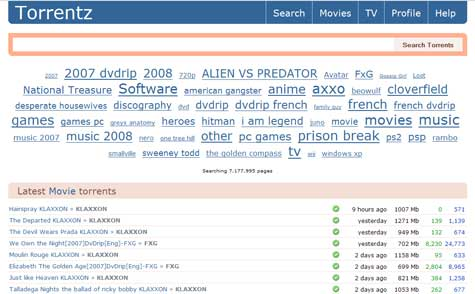 Torrentz: New Features and Verified Torrents