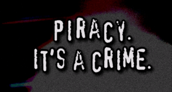 piracy it's a crime