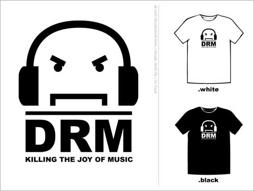 Anti-DRM T-Shirt Designs: Vote Now | TorrentFreak