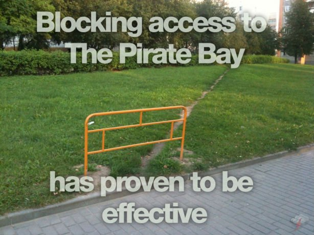 pirate bay blocked