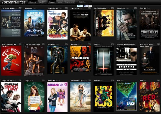 Torrent Butler, Serving Movie Torrents With Class - TorrentFreak