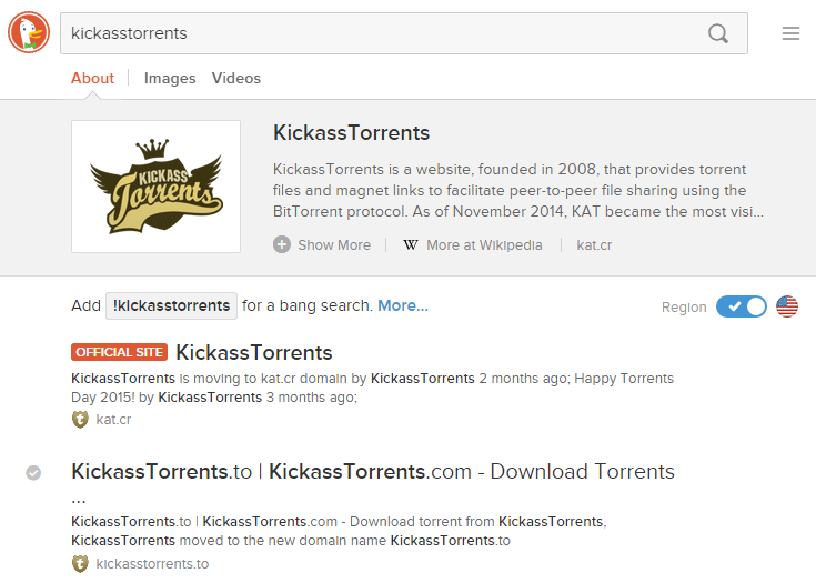 Worlds number one torrent site, Kickass Torrents removed from Google Search results