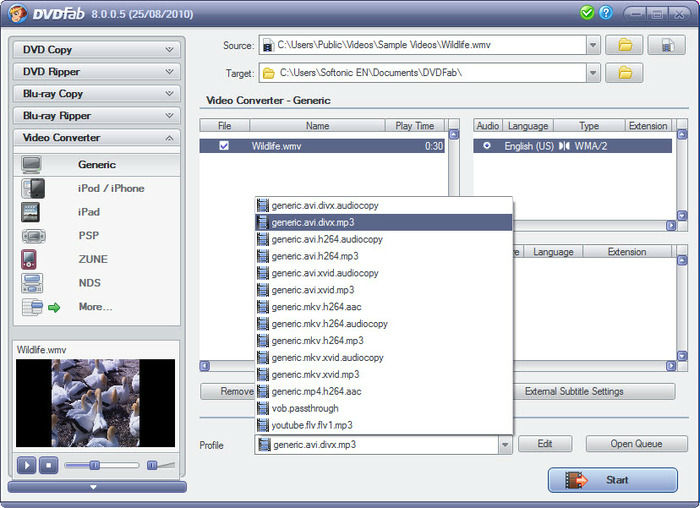 Full DVDFab screenshot