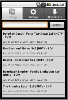EZTV App Arrives on Android, TV Torrents Go Mobile