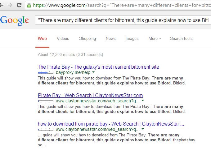 pirate bay proxy site