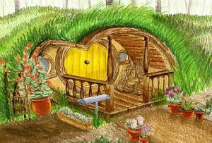 Great Last Month Jan And Ed Lengyel Decided To Launch A Kickstarter Campaign For  The Hobbit House Theyu0027re Building At Their Suffolk Countryside Campsite.