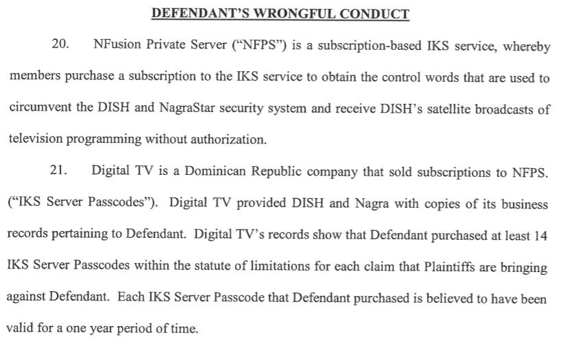 DISH Threatens to Sue IPTV Subscribers Because Suppliers Are Snitching