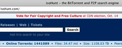 isohunt election
