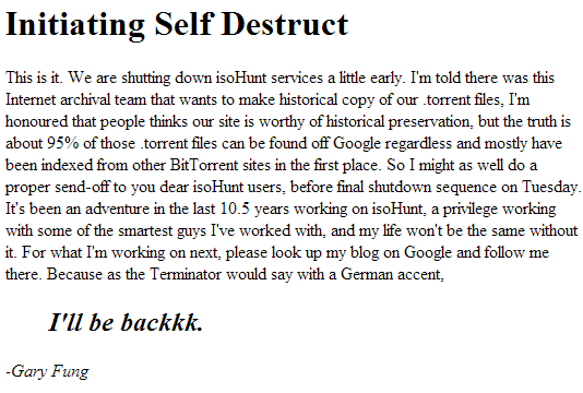 isohunt-destruction notice