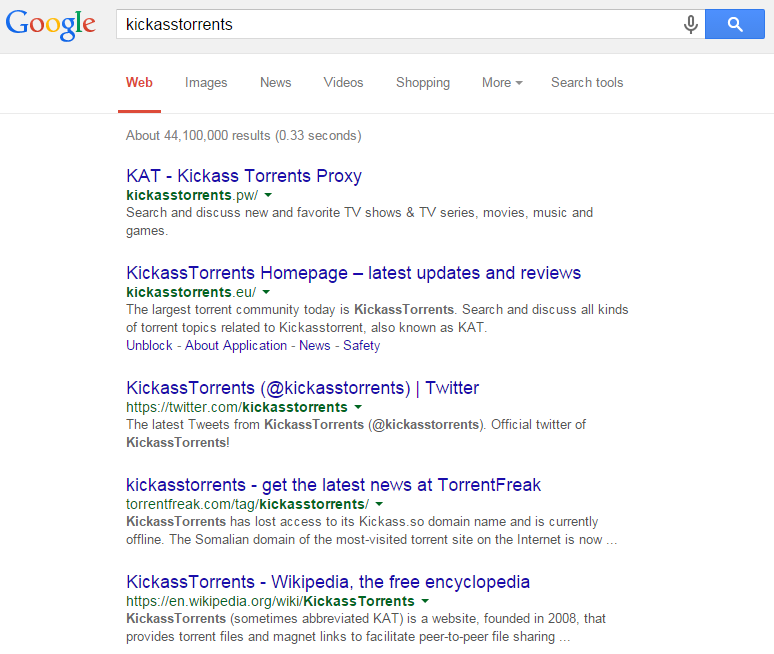 Kickass torrent wiki | Is kickass torrents really back? Is it legal