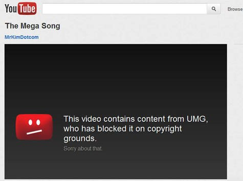 Mega Song Blocked