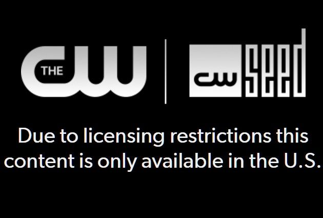the cw not available