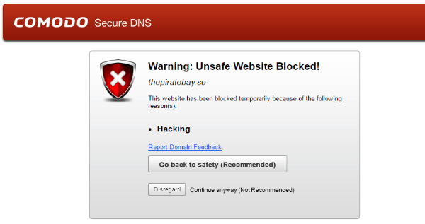 Chrome and Firefox Block Pirate Bay Over
