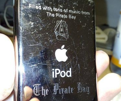 ipod pirate bay