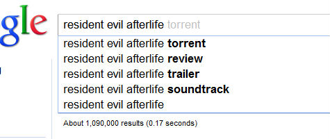 resident evil afterlife torrent