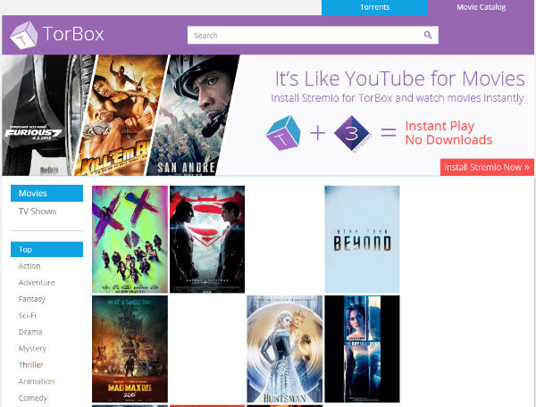 how to download a movie using utorrent in india