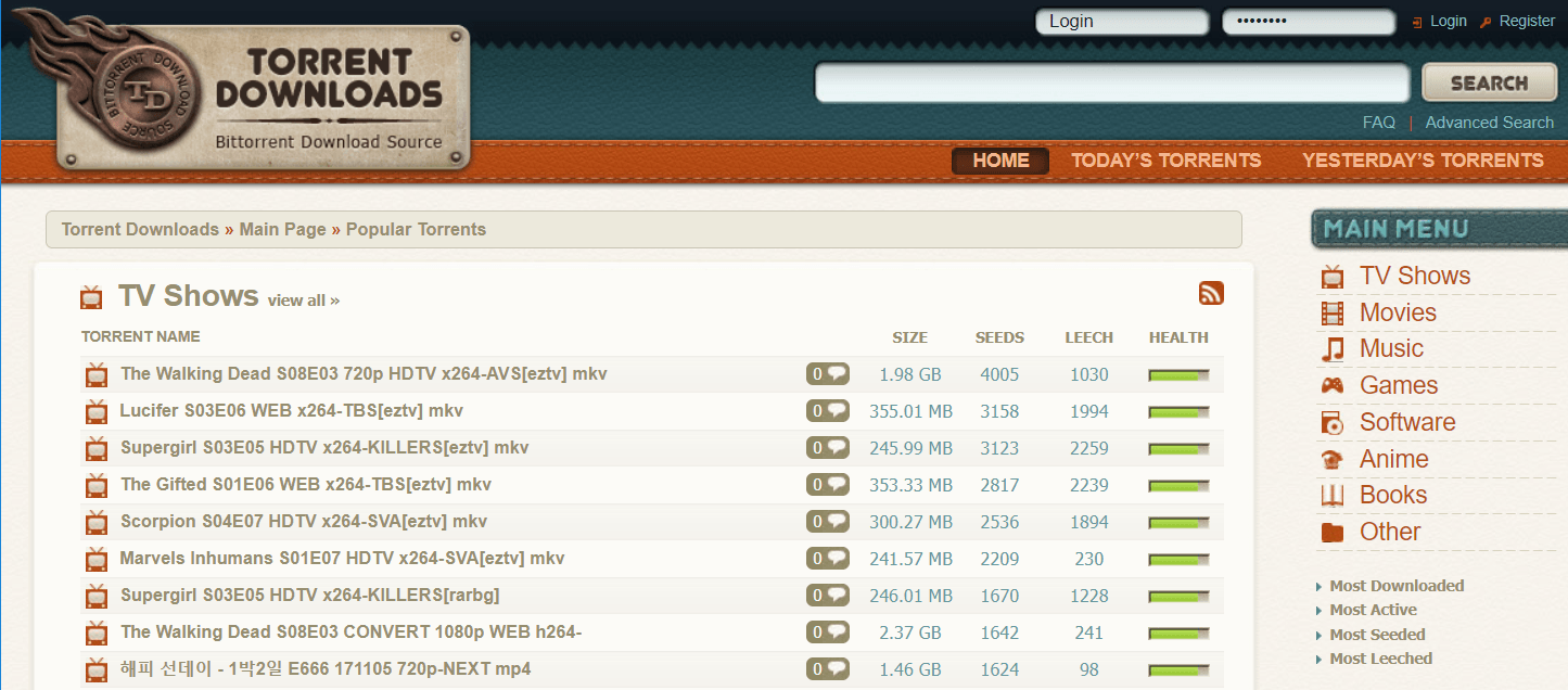 Top 10 Torrent Site TorrentDownloads Blocked By Chrome and Firefox 29