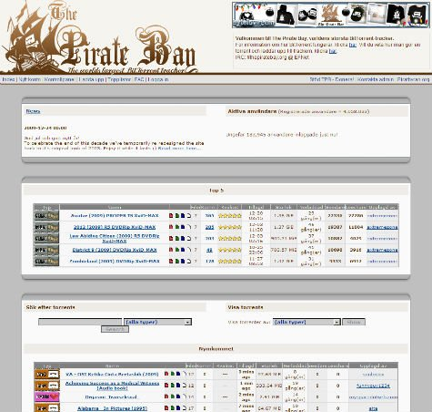 pirate bay page