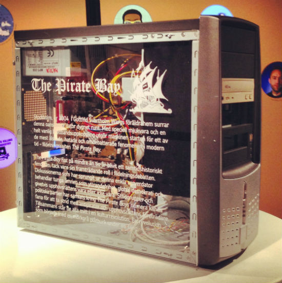 'First' Pirate Bay Server on Permanent Display in Computer ...