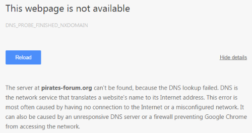 Pirate Bay Forum Knocked Offline by ICANN Complaint