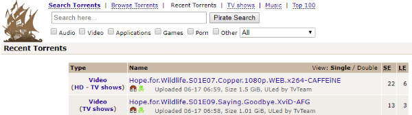 pirate bay difference between trusted and vip