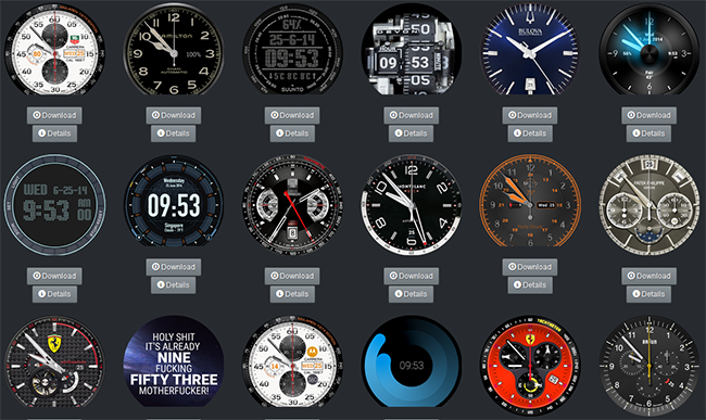 Luxury Watchmakers Target Pirate Smartwatch Faces ...