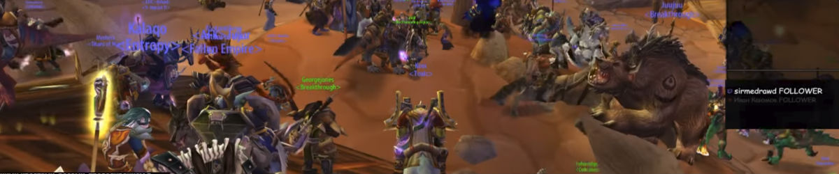 Blizzard Targets Fan-Created 'World of Warcraft' Legacy