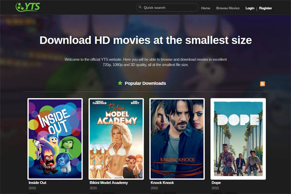 Best Yify Alternative Sites – Sites Like Yify (Top 10)