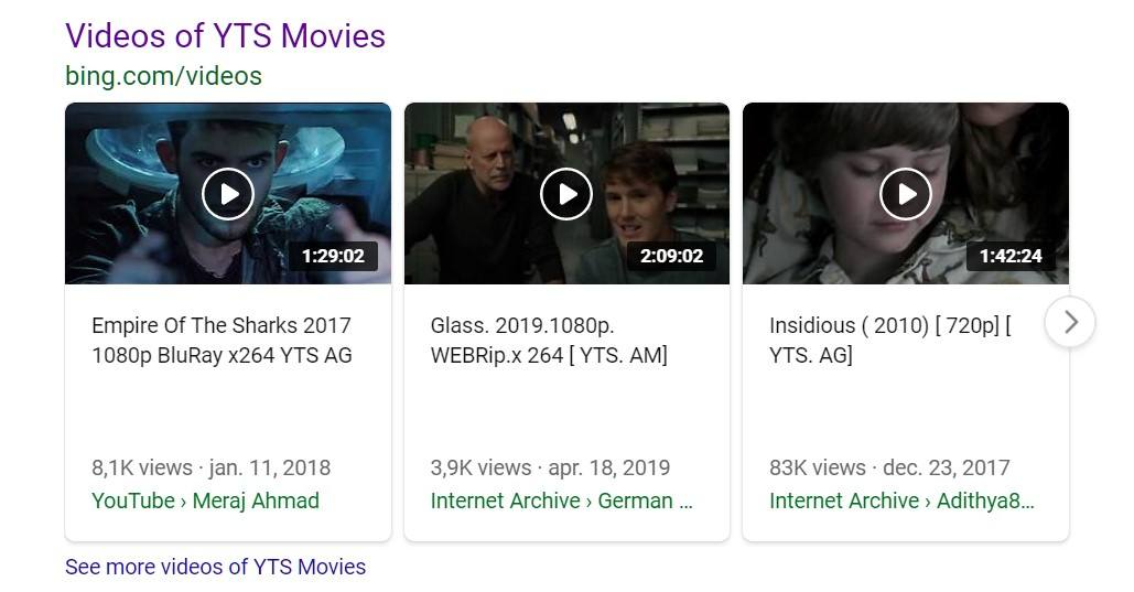 yts bing movies